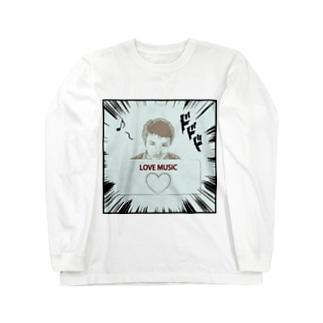 ダーク良太(LOVE MUSIC) Long sleeve T-shirts
