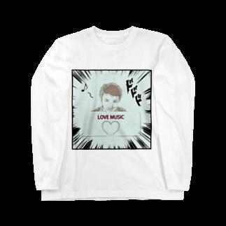 Kengo Kitajimaのダーク良太(LOVE MUSIC) Long sleeve T-shirts