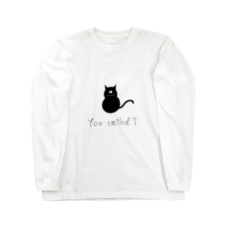 helloの猫 Long sleeve T-shirts