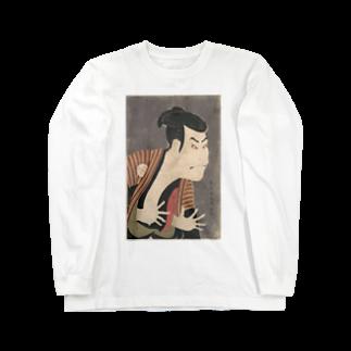 HOKO-ANの三代目大谷鬼次の奴江戸兵衛 Long sleeve T-shirts