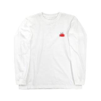 かにさん Long sleeve T-shirts