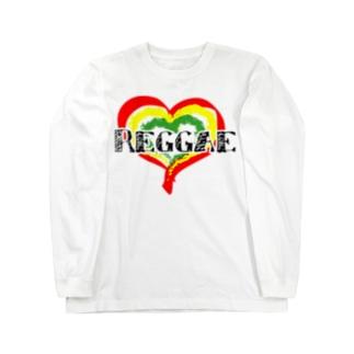 レゲエ Long sleeve T-shirts