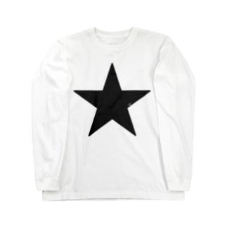 Black Star Long sleeve T-shirts
