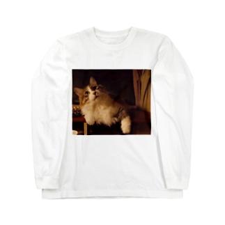 社長3。 Long sleeve T-shirts