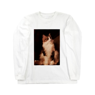 社長4。 Long sleeve T-shirts