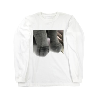 猫の御御足 Long sleeve T-shirts