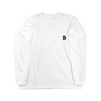 ビットコイン Long sleeve T-shirts