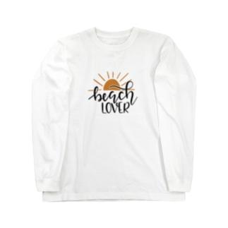 ビーチラバーズ Long sleeve T-shirts