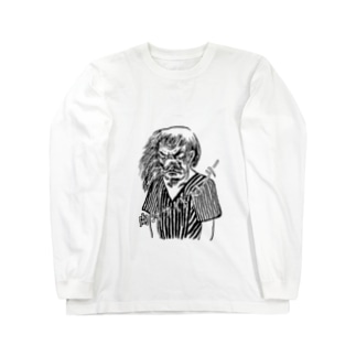 天狗るんげ Long sleeve T-shirts