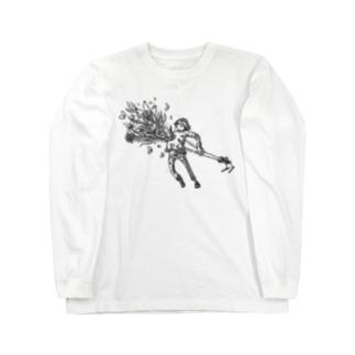 夢の在処に咲く花 Long sleeve T-shirts