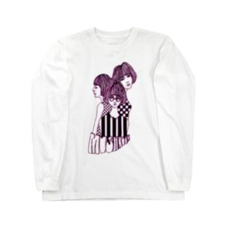 mushroom sisters Long sleeve T-shirts