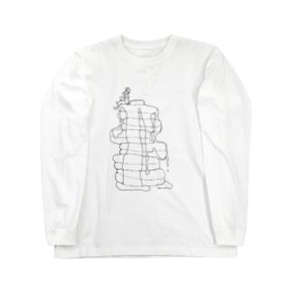 パンケーキと男の子 Long sleeve T-shirts
