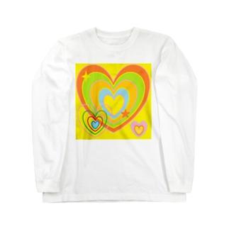 元気なハート ★ Long sleeve T-shirts