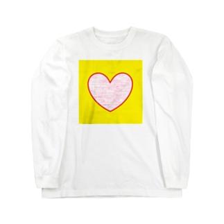 ハートでHello ★ Long sleeve T-shirts