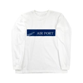 AIRPORT Long sleeve T-shirts