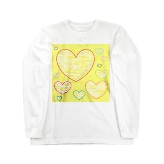 やさしいハート ★ Long sleeve T-shirts