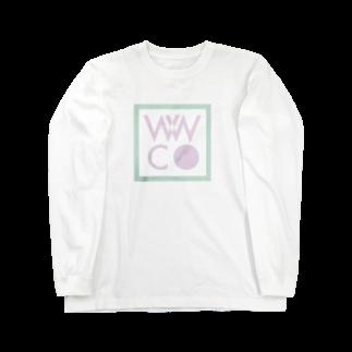 DEEPDRILLEDWELL@井戸の中のwwc Long sleeve T-shirts