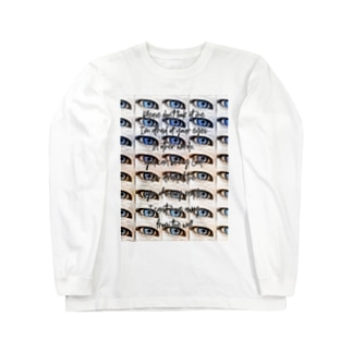 視線は僕の神になる Long sleeve T-shirts