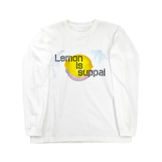 レモンisスッパイロングスリーブTシャツ Long sleeve T-shirts