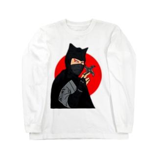 怪傑黒頭巾 Long sleeve T-shirts