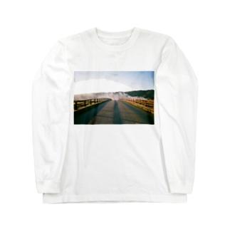 神明橋 Long sleeve T-shirts