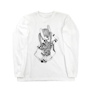兎 Long sleeve T-shirts