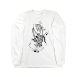 兎 Long sleeve T-shirts