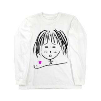 逃げられる女の子 Long sleeve T-shirts