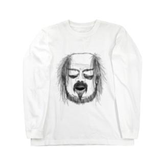 落ち武者 Long sleeve T-shirts