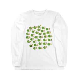 ギャのっぴーいっぱい Long sleeve T-shirts