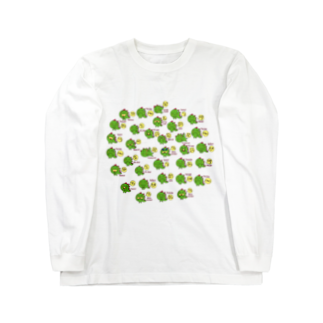 IWAOTHIのお店のギャのっぴーいっぱい Long sleeve T-shirts
