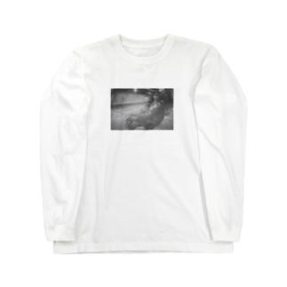 黄昏チンパンジー Long sleeve T-shirts