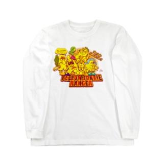 YELLOW JUNKIE ヒーロー気取り Long sleeve T-shirts