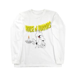 タムチンキ王国のオドロオドロの幽霊屋敷 Long sleeve T-shirts