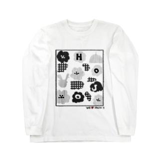 北条民 Long sleeve T-shirts