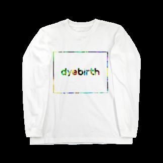 nor_tokyoのdyebirth_008 Long sleeve T-shirts