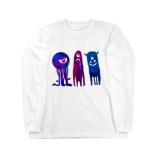 ワレワレハ Long sleeve T-shirts