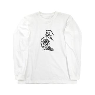 全てを見透かす目 Long sleeve T-shirts