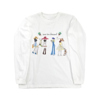 HAPPY GIRLS Long sleeve T-shirts