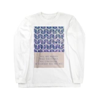 二面性ネオ B Long sleeve T-shirts