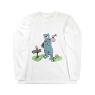 お引越しつっきー Long sleeve T-shirts