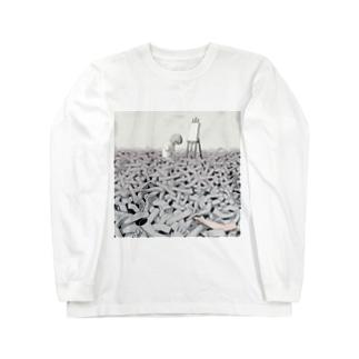 スランプ Long sleeve T-shirts