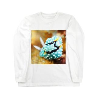 シモフリカメサンウミウシ Long sleeve T-shirts