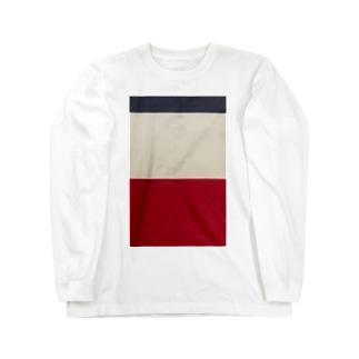 鉄道 グッズ コントラスト 京急 Long sleeve T-shirts