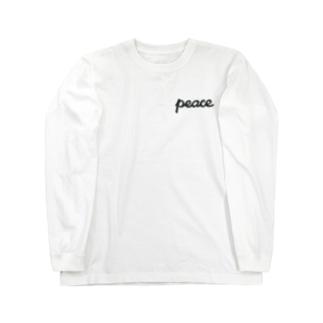 平和 Long sleeve T-shirts