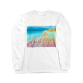 異界の海 Long sleeve T-shirts