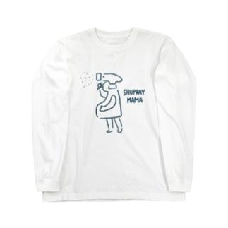 主婦レーままさん/SHUPRAY MAMA Long sleeve T-shirts