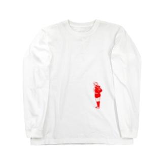 チャクシンナシ Long sleeve T-shirts