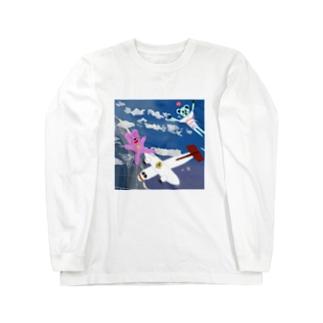 高度5000mからの上昇 Long sleeve T-shirts