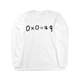 0×0=49 Long sleeve T-shirts